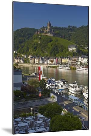 Germany, Rhineland-Palatinate, the Moselle, Cochem, Castle-Chris Seba-Mounted Photographic Print