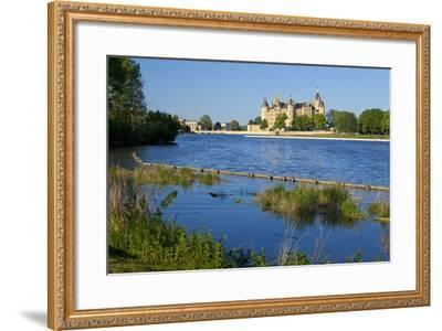 Germany, Western Pomerania, Schwerin Palace-Chris Seba-Framed Photographic Print