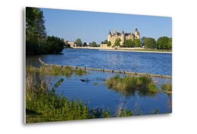Germany, Western Pomerania, Schwerin Palace-Chris Seba-Metal Print