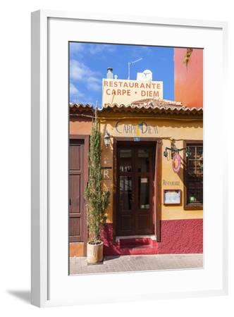 Colourful Houses, Tazacorte, La Palma, Canary Islands, Spain, Europe-Gerhard Wild-Framed Photographic Print