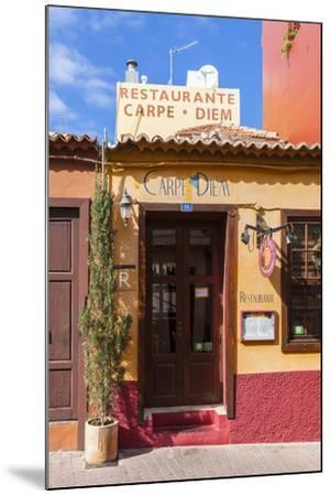 Colourful Houses, Tazacorte, La Palma, Canary Islands, Spain, Europe-Gerhard Wild-Mounted Photographic Print