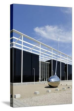 Modern Architecture, Orestad, Island Amager, Copenhagen, Denmark-Axel Schmies-Stretched Canvas Print