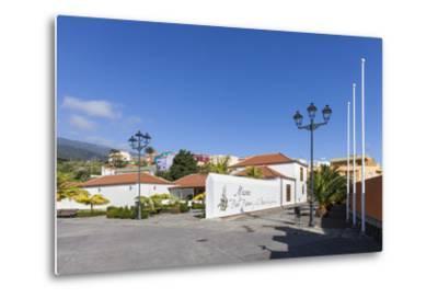 Cigar Museum of Brena Alta, San Pedro, La Palma, Canary Islands, Spain, Europe-Gerhard Wild-Metal Print