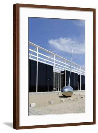 Modern Architecture, Orestad, Island Amager, Copenhagen, Denmark-Axel Schmies-Framed Photographic Print