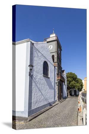 Church San Pedro Apostol, San Pedro, Brena Alta, La Palma, Canary Islands, Spain, Europe-Gerhard Wild-Stretched Canvas Print