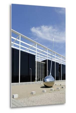 Modern Architecture, Orestad, Island Amager, Copenhagen, Denmark-Axel Schmies-Metal Print