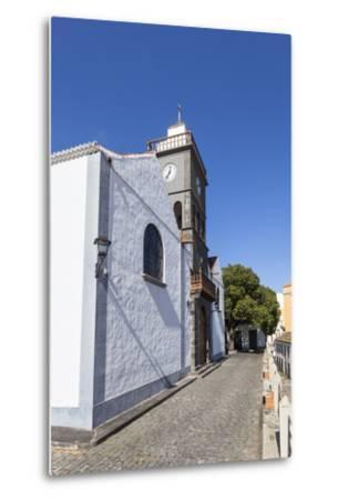 Church San Pedro Apostol, San Pedro, Brena Alta, La Palma, Canary Islands, Spain, Europe-Gerhard Wild-Metal Print