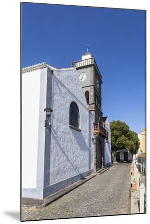 Church San Pedro Apostol, San Pedro, Brena Alta, La Palma, Canary Islands, Spain, Europe-Gerhard Wild-Mounted Photographic Print
