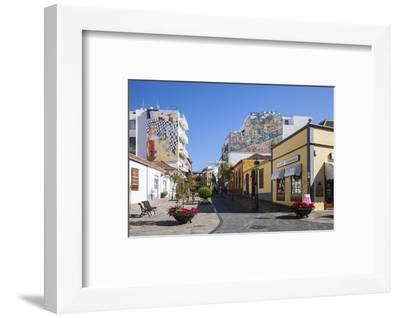 Pedestrian Area in the Old Town of Los Llanos, La Palma, Canary Islands, Spain, Europe-Gerhard Wild-Framed Photographic Print