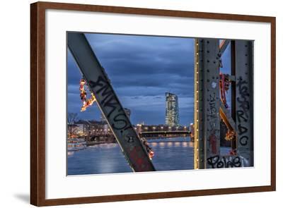 Frankfurt on the Main, Hesse-Bernd Wittelsbach-Framed Photographic Print