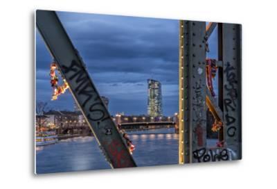 Frankfurt on the Main, Hesse-Bernd Wittelsbach-Metal Print