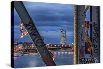 Frankfurt on the Main, Hesse-Bernd Wittelsbach-Stretched Canvas Print