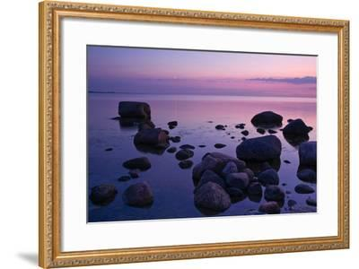 Fehmarnsund, Baltic Sea, Evening-Thomas Ebelt-Framed Photographic Print