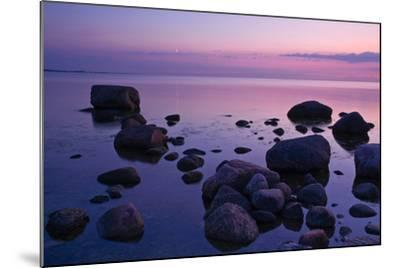 Fehmarnsund, Baltic Sea, Evening-Thomas Ebelt-Mounted Photographic Print