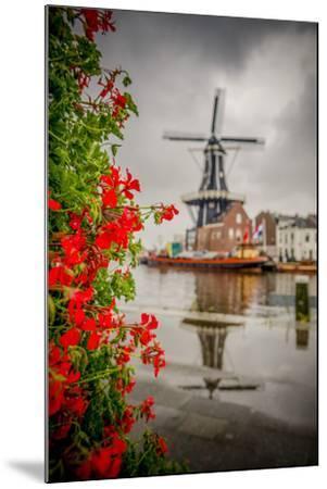 The Netherlands, Haarlem, Mill, Windmill, De Adriaan-Ingo Boelter-Mounted Photographic Print