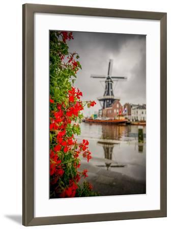 The Netherlands, Haarlem, Mill, Windmill, De Adriaan-Ingo Boelter-Framed Photographic Print