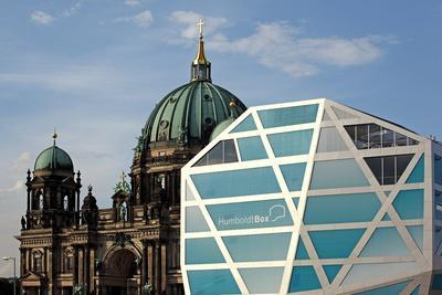 Germany, Berlin, Humboldt Box, Berlin Cathedral-Catharina Lux-Framed Photographic Print