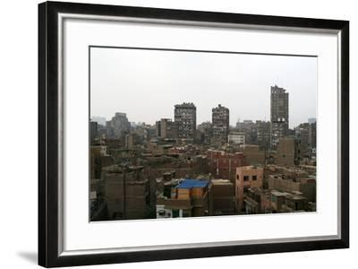 Egypt, Cairo, Old Town, View from Bab Zweila-Catharina Lux-Framed Photographic Print