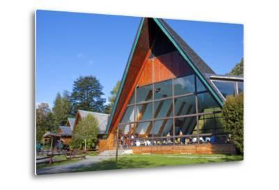 Chile, Patagonia, X. Region, National Park Puyehue, Thermal Bath, Indoor Swimming Pool, Bath House-Chris Seba-Metal Print