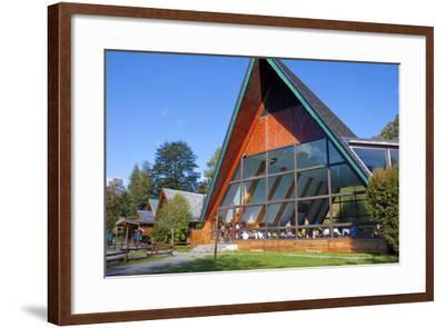 Chile, Patagonia, X. Region, National Park Puyehue, Thermal Bath, Indoor Swimming Pool, Bath House-Chris Seba-Framed Photographic Print