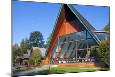 Chile, Patagonia, X. Region, National Park Puyehue, Thermal Bath, Indoor Swimming Pool, Bath House-Chris Seba-Mounted Photographic Print