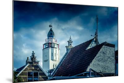 The Netherlands, Frisia, Harlingen, Harbour, Lighthouse-Ingo Boelter-Mounted Photographic Print