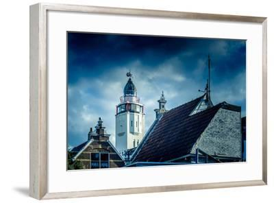 The Netherlands, Frisia, Harlingen, Harbour, Lighthouse-Ingo Boelter-Framed Photographic Print