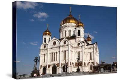 Moscow, Cathedral of Christ the Saviour-Catharina Lux-Stretched Canvas Print
