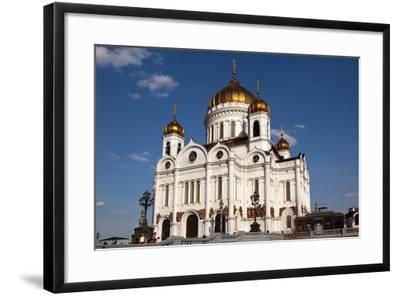 Moscow, Cathedral of Christ the Saviour-Catharina Lux-Framed Photographic Print