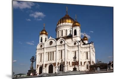 Moscow, Cathedral of Christ the Saviour-Catharina Lux-Mounted Photographic Print