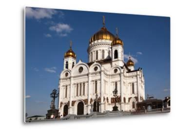Moscow, Cathedral of Christ the Saviour-Catharina Lux-Metal Print