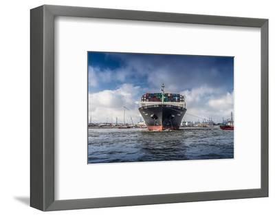 Germany, Hamburg, the Elbe, Fish Market, Harbour-Ingo Boelter-Framed Photographic Print