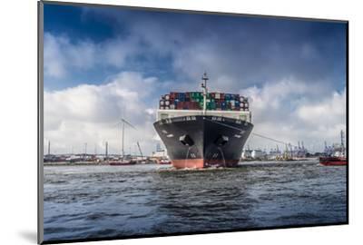 Germany, Hamburg, the Elbe, Fish Market, Harbour-Ingo Boelter-Mounted Photographic Print