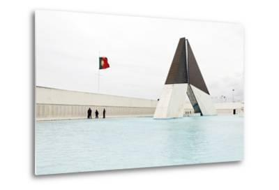 Monumento Aos Combatentes Da Guerra Do Ultramar, Belem War Monument, Guard, Belem District, Lisbon-Axel Schmies-Metal Print