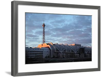 Berlin, Radio Tower, Icc-Catharina Lux-Framed Photographic Print