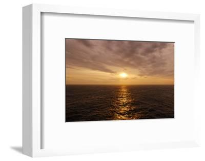 Sunset on the Open Seas-Axel Schmies-Framed Photographic Print
