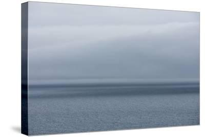 Ocean, Rainy Weather-Catharina Lux-Stretched Canvas Print