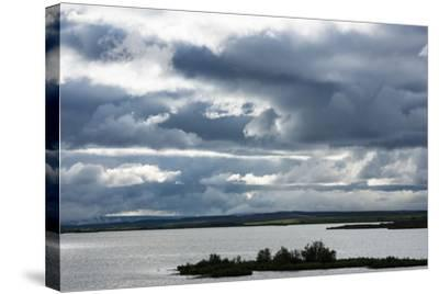 Myvatn, Clouds-Catharina Lux-Stretched Canvas Print
