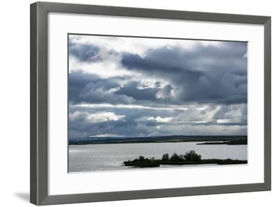 Myvatn, Clouds-Catharina Lux-Framed Photographic Print