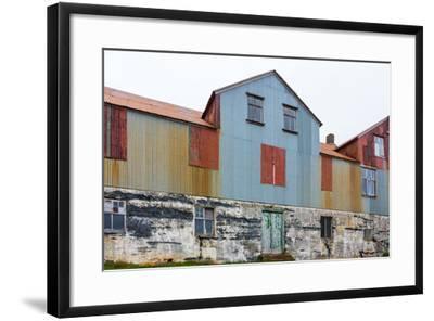Iceland, Djupavik, Former Fish Factory-Catharina Lux-Framed Photographic Print