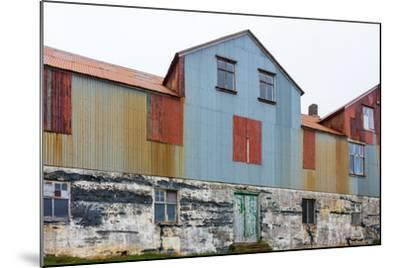 Iceland, Djupavik, Former Fish Factory-Catharina Lux-Mounted Photographic Print