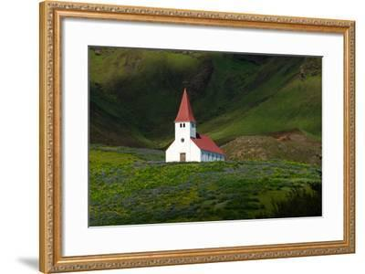 Vik, Church-Catharina Lux-Framed Photographic Print