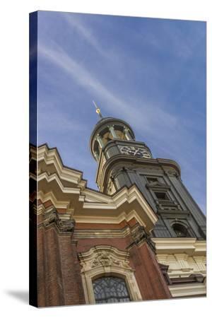 Germany, Hamburg, Neustadt, Church, St. Michaelis, Michel-Ingo Boelter-Stretched Canvas Print