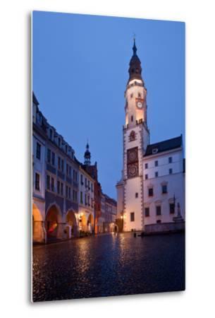 Germany, Saxony, Gšrlitz, Untermarkt, City Hall-Catharina Lux-Metal Print