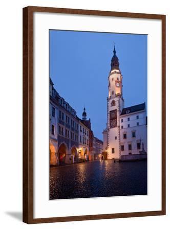 Germany, Saxony, Gšrlitz, Untermarkt, City Hall-Catharina Lux-Framed Photographic Print