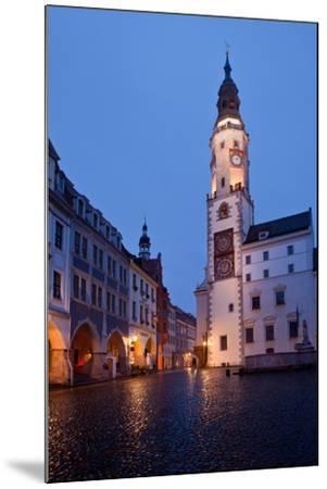 Germany, Saxony, Gšrlitz, Untermarkt, City Hall-Catharina Lux-Mounted Photographic Print