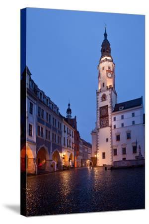 Germany, Saxony, Gšrlitz, Untermarkt, City Hall-Catharina Lux-Stretched Canvas Print