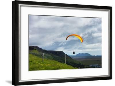 Glider at Skogafoss-Catharina Lux-Framed Photographic Print