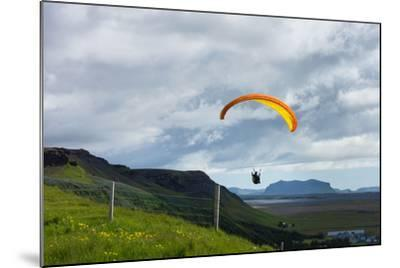 Glider at Skogafoss-Catharina Lux-Mounted Photographic Print
