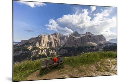 Sella Group, View from the High Route of Kolfuschg, Dolomites-Gerhard Wild-Mounted Photographic Print